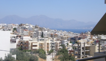 ANA5401- Stunning top floor apartment in Aghios Nikolaos