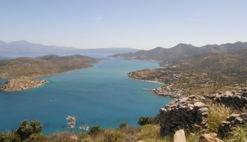 ELIL9674 – Land with stunning sea view in Plaka, Elounda.