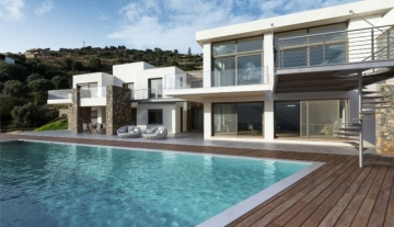 ANLV14 - Luxury villa with sea view located in Agios Nikolaos