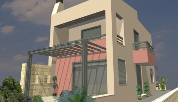 ANSC1549 2 Storey under construction house in Sissi