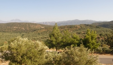 MPL6789 – 1400 m2 plot of land in Mardati, Aghios Nikolaos.