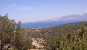 ANPL7125-1.400 m2 plot in Agios Nikolaos with sea view