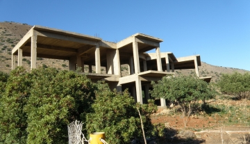 ELUC3006- Semi- constructed detached house of 200 m2 in Elounda
