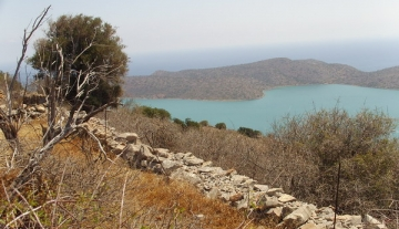 ELPL1249- 6441 m2 Building plot in Pines-Elounda